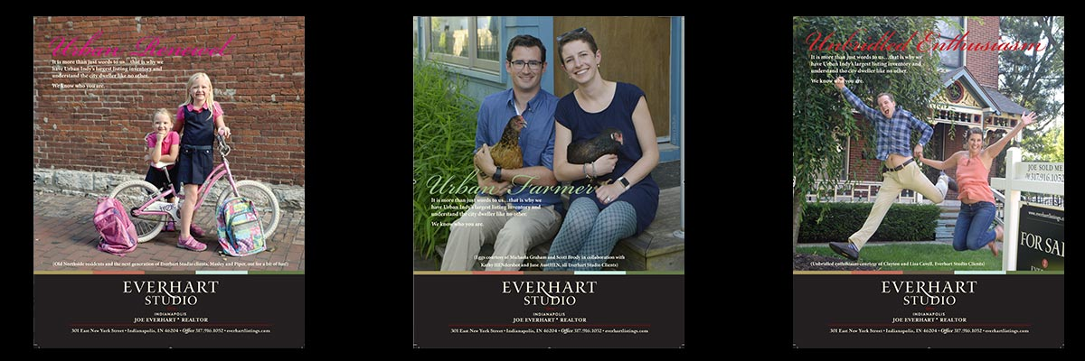 Everhart Studio Indianapolis Real Estate Ad Campaigns Print